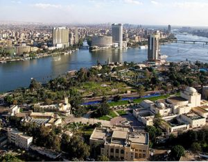 View of Nile From Cairo Tower