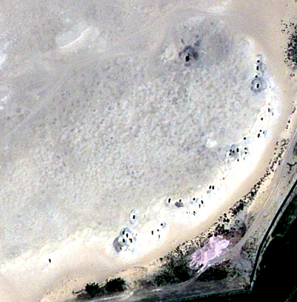 Egypt's Damage Seen from Space