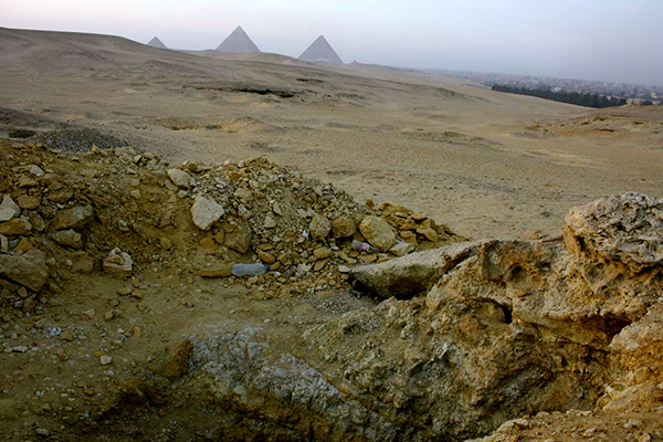 Egypt's Damage on the Ground