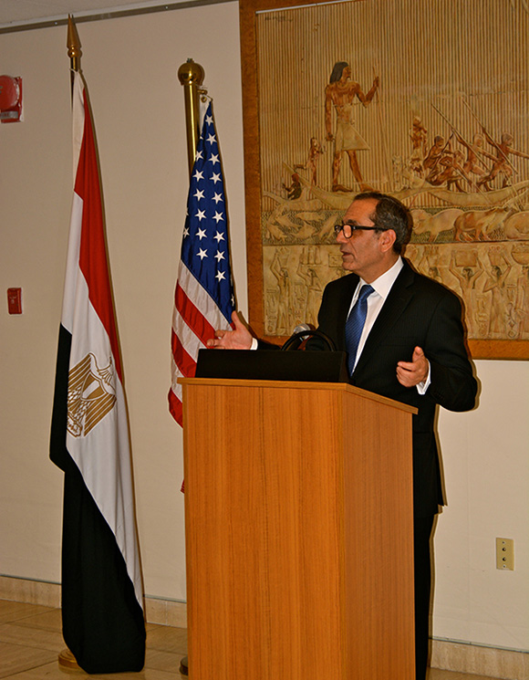 Antiquity Repatriation Ceremony at Egyptian Embassy in DC
