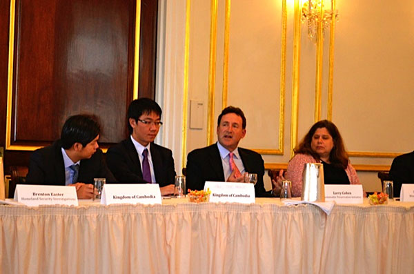 Cambodia Roundtable on Cultural Racketeering – May 8, 2014
