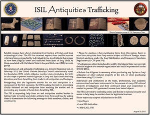 The FBI Asks for the Art Market's Help Distributing this Flyer