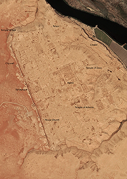 Images Provided by the FBI Show Syrian Looters' Pits in 2012 and again in 2014