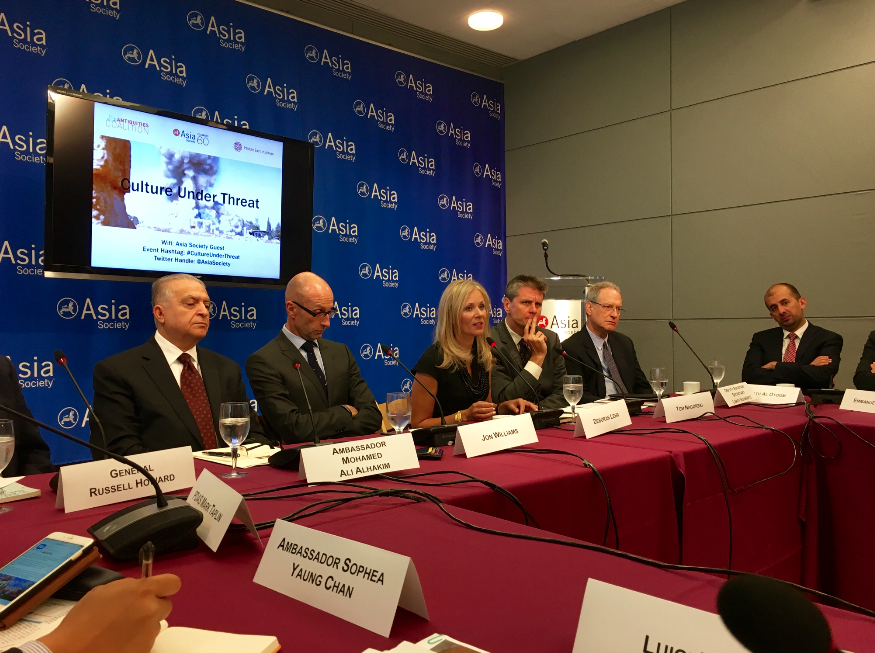 Asia Society and Antiquities Coalition Convene Leaders to Promote Protection of Conflict Antiquities