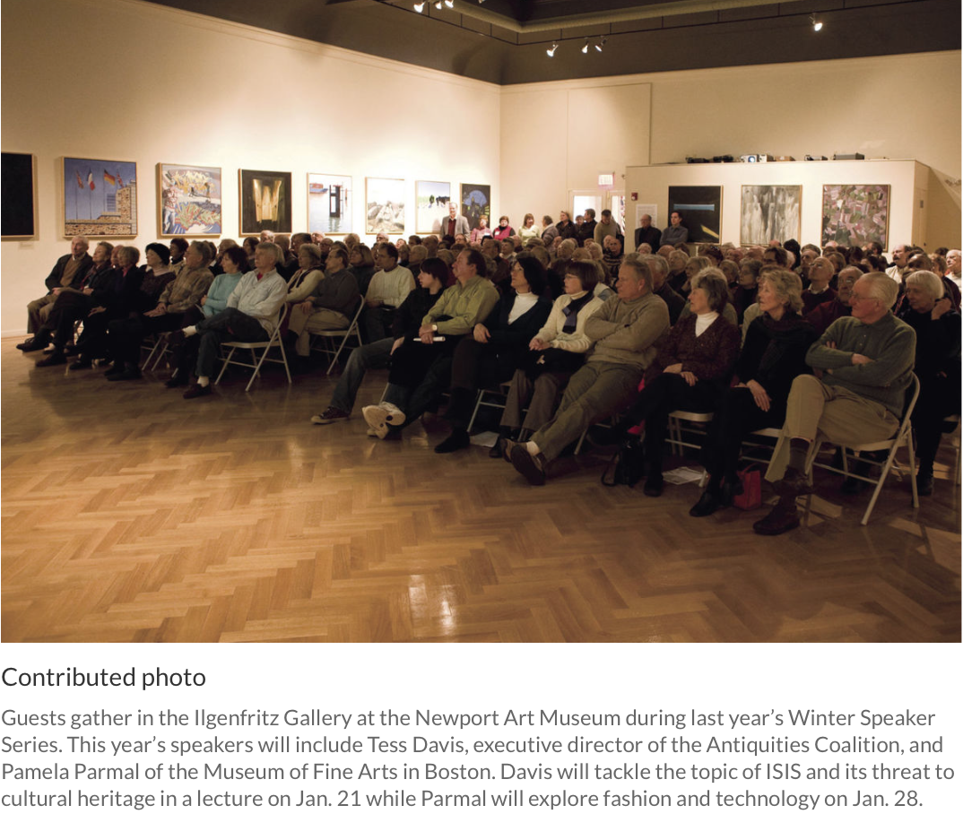 At the Museum: Winter speakers bring diverse perspectives to Newport