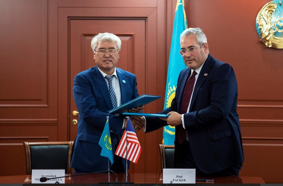 Kazakh Culture and Sports Ministry and the U.S. Commission for the Preservation of America's Heritage Abroad