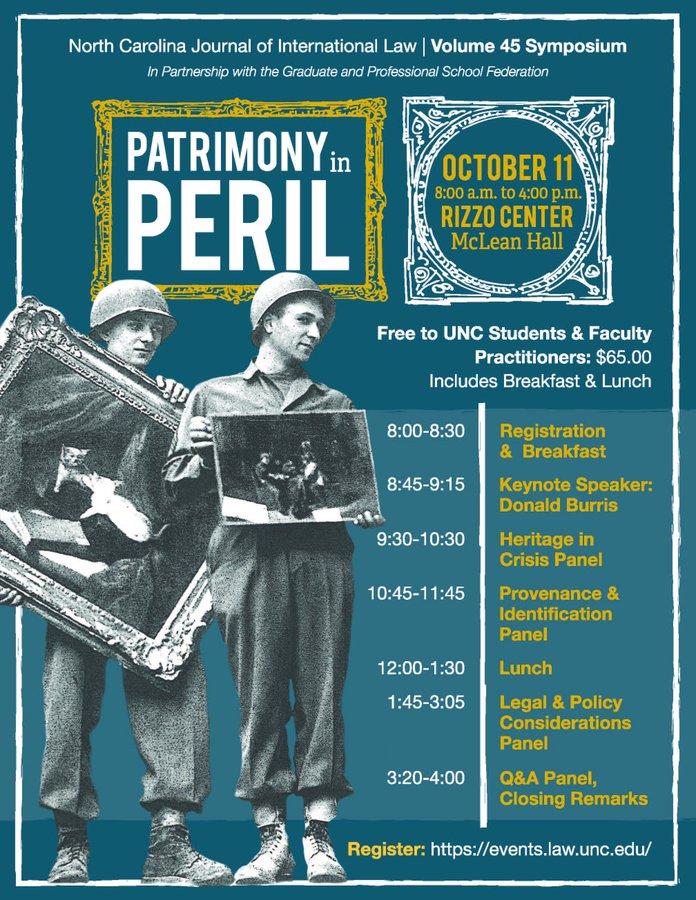 Patrimony in Peril
